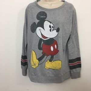 Disney Parks Mickey Mouse pullover sweatshirt L